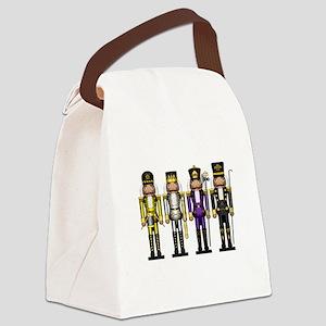 Nutcrackers in Non-Binary Colors Canvas Lunch Bag