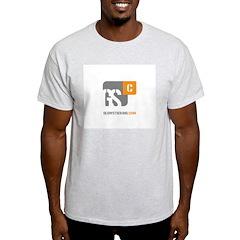 New Design: GSCv5 Ash Grey T-Shirt