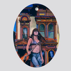 The Haight Ornament (Oval)