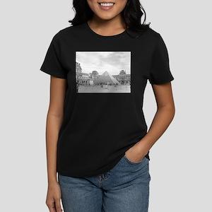 louvre Women's Dark T-Shirt
