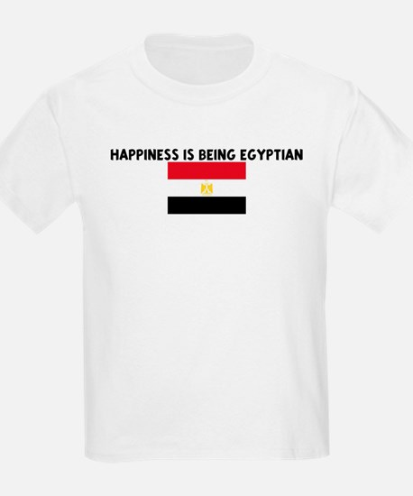 HAPPINESS IS BEING EGYPTIAN T-Shirt