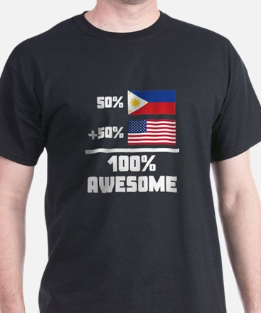 Awesome Filipino American T-Shirt