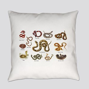 snakes Everyday Pillow