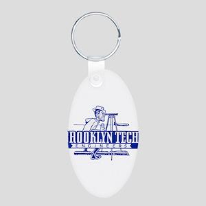 Joe Tech Aluminum Oval Keychain