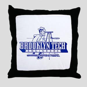 Joe Tech Throw Pillow