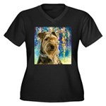 Airedale Painting Plus Size T-Shirt