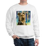 Airedale Painting Sweatshirt
