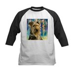 Airedale Painting Baseball Jersey