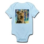 Airedale Painting Body Suit