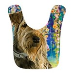 Airedale Painting Bib