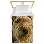 Airedale Painting Twin Duvet