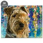 Airedale Painting Puzzle
