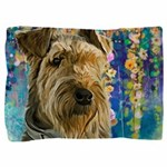 Airedale Painting Pillow Sham