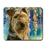 Airedale Painting Mousepad