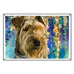 Airedale Painting Banner