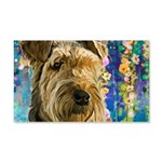 Airedale Painting Wall Decal