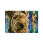 Airedale Painting Magnets