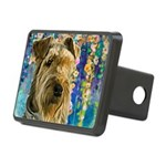 Airedale Painting Hitch Cover