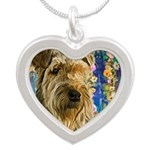 Airedale Painting Necklaces
