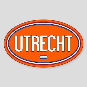The Netherlands: Utrecht Oval (Oran Sticker (Oval)