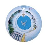 Stairway To Heaven Ornament (Round)