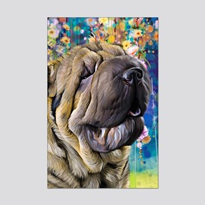 Shar Pei Painting Posters