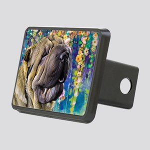 Shar Pei Painting Hitch Cover