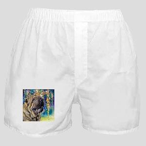 Shar Pei Painting Boxer Shorts