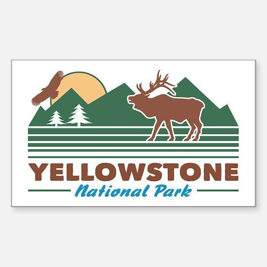 Yellowstone Sticker (Rectangle)
