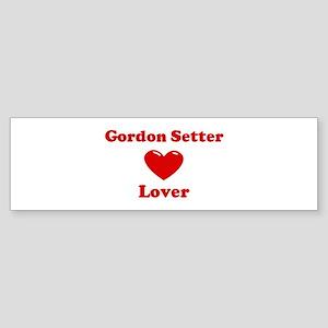 Gordon Setter Lover Bumper Sticker