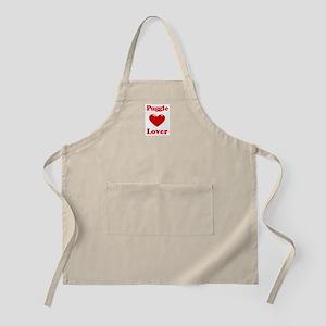 Puggle Lover BBQ Apron