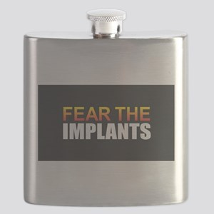 Fear the Implants Flask