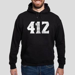 412 Pittsburgh Area Code Hoodie