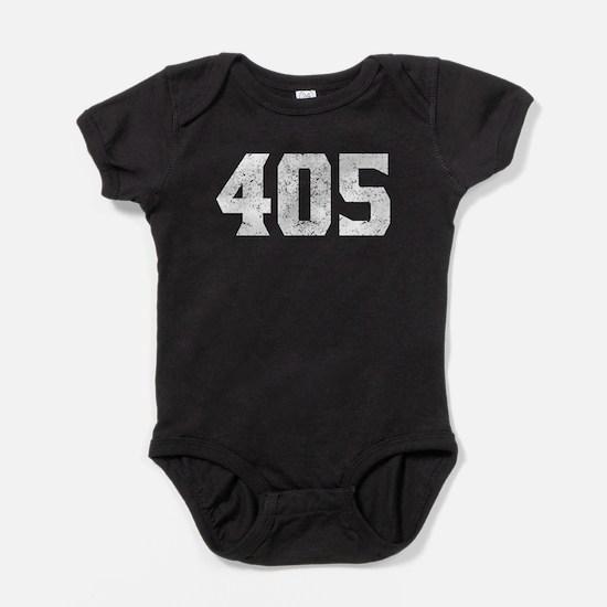 405 Oklahoma City Area Code Baby Bodysuit