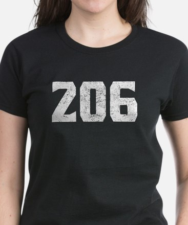 206 Seattle Area Code T-Shirt