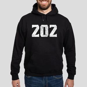 202 Washington DC Area Code Hoodie