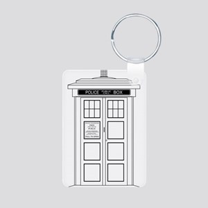 Old Fashioned British Police Box Keychains