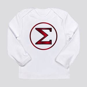 Sigma Greek Letter Long Sleeve T-Shirt