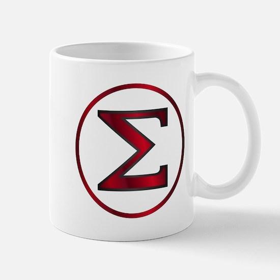 Sigma Greek Letter Mugs