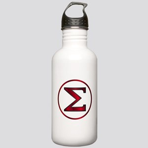 Sigma Greek Letter Stainless Water Bottle 1.0L