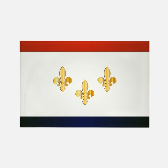 New Orleans City Flag Magnets