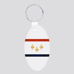 New Orleans City Flag Keychains