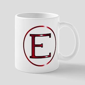 Epsilon Greek Letter Mugs
