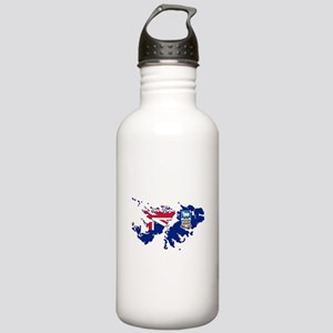 Falkland Islands Silho Stainless Water Bottle 1.0L