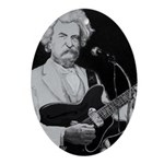 Mark Twain Rocks! Ornament (Oval)