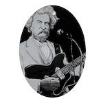 Mark Twain Rocks! Ornament (Oval)