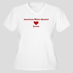 American Water Spaniel Lover Women's Plus Size V-N