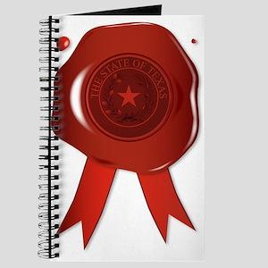 Texas State Wax Seal Journal