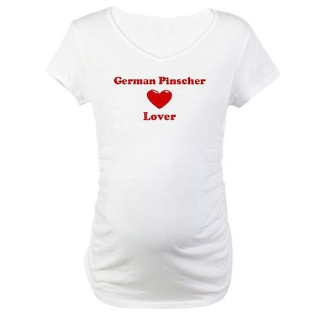 German Pinscher Lover Maternity T-Shirt