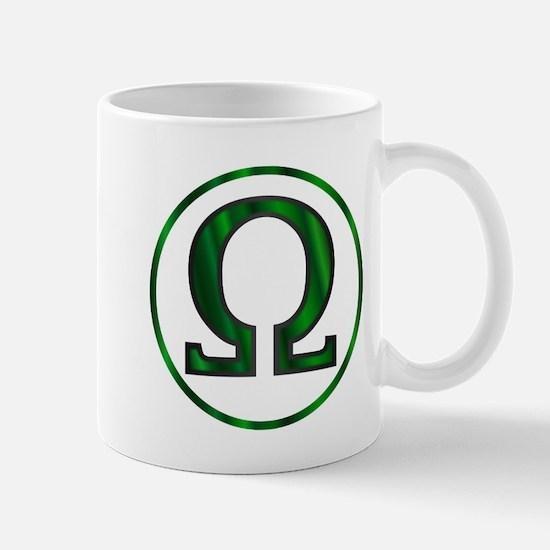 Omega Greek Letter Mugs